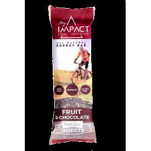 Barre énergétique My Impact - FRUITS & CHOCOLAT