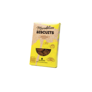Biscuits Crackers - Graine de pavot & Oignon